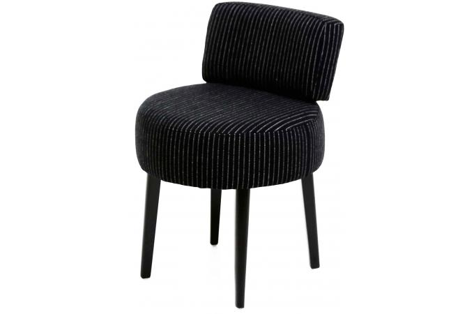 fauteuil crapaud noir ray joyce design sur sofactory. Black Bedroom Furniture Sets. Home Design Ideas