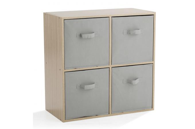 rangement 4 cases ch ne nelly design sur sofactory. Black Bedroom Furniture Sets. Home Design Ideas