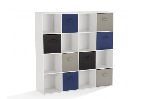 Rangement 9 cases Blanc NELLY So257797-0000