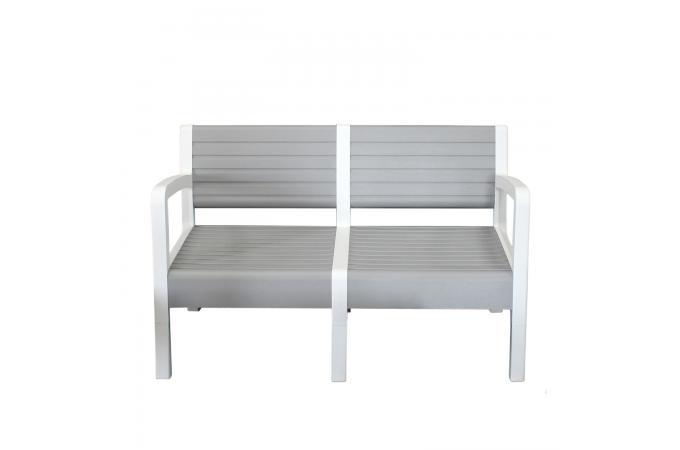 Best salon de jardin blanc et gris pictures for Jardin gris wallpaper