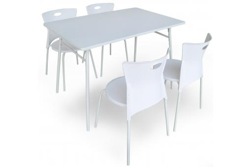 Set de table et 4 chaises LUNCH SoFactory
