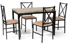 Set table + 4 chaises FABIAN