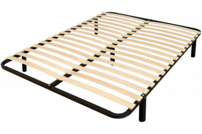 sommier a lattes 120x190 en m tal noir occulus design sur. Black Bedroom Furniture Sets. Home Design Ideas