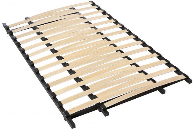 sommier extensible 90 140x190cm parita design sur sofactory. Black Bedroom Furniture Sets. Home Design Ideas