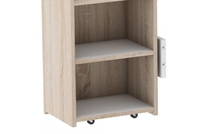 Tête De Lit Rangements Blanc Bois Goliad Design Sur Sofactory