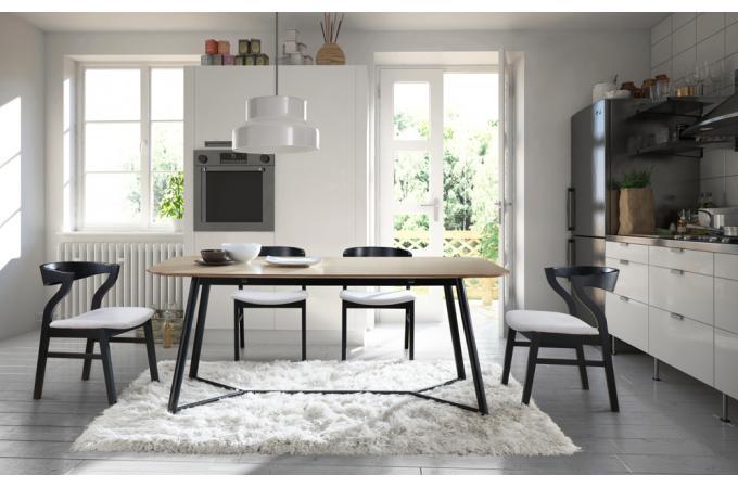 Table à manger Bois Noir 180cm POPSY design sur SoFactory 57d95062d35d