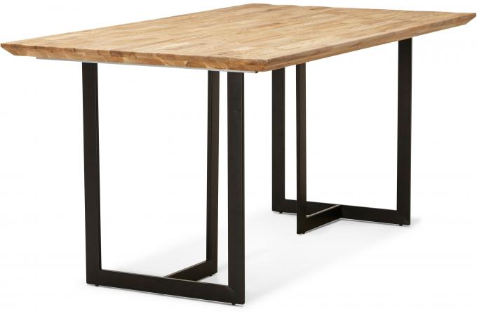 Table manger en ch ne skinny design pas cher sur sofactory - Table a manger en chene ...