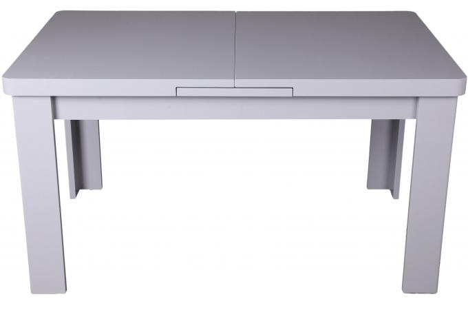 Table manger extensible grise maeva design sur sofactory for Table a manger grise