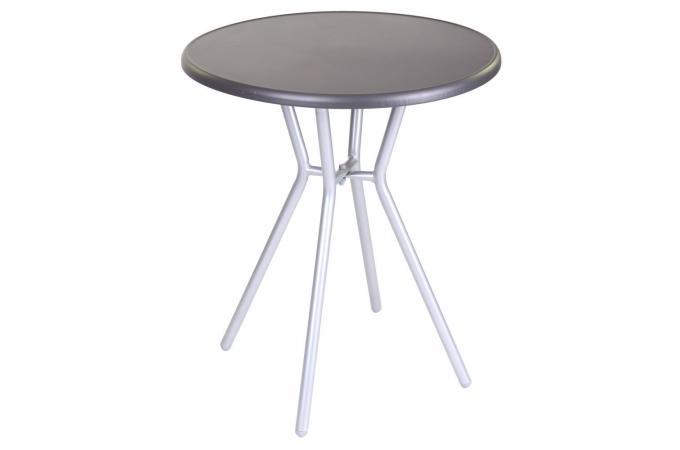 table manger ext rieur gris noir elio design sur sofactory. Black Bedroom Furniture Sets. Home Design Ideas