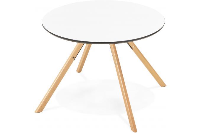 Table Manger Ronde Blanche D100 Fare Design Pas Cher Sur Sofactory