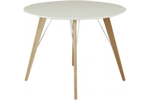 Table Manger Scandinave Ronde Blanche D100 Anja Design En Direct De L 39 Usine Sur Sofactory