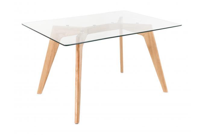 Table A Manger 120 Cm.Table A Manger Scandinave Verre 120cm Polaar