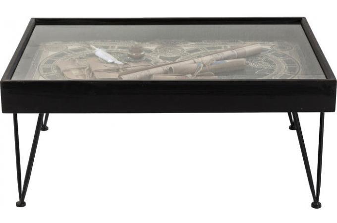 Table basse 100x70 cm troffee design sur sofactory for Table 100x70