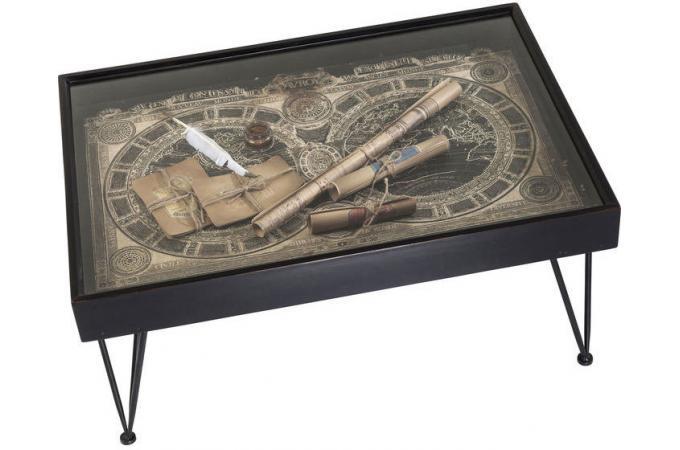 Table basse 100x70 cm troffee design sur sofactory for Table cuisine 70 x 100