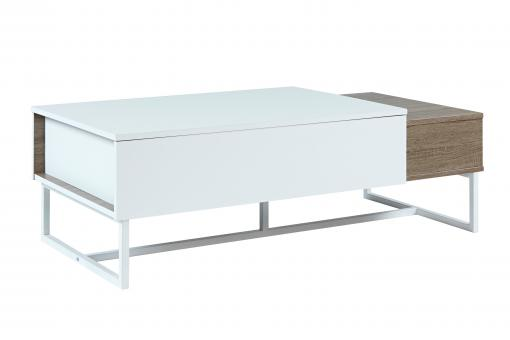 Table basse Métal Blanc DI234858-0000
