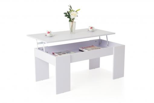 Table Basse Blanc MELO So112958-0000