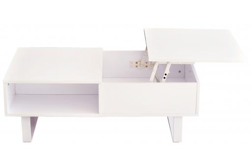 Table basse Bois Blanc IC182902-0000
