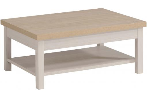 Table basse Bois Blanc PA254661-0000