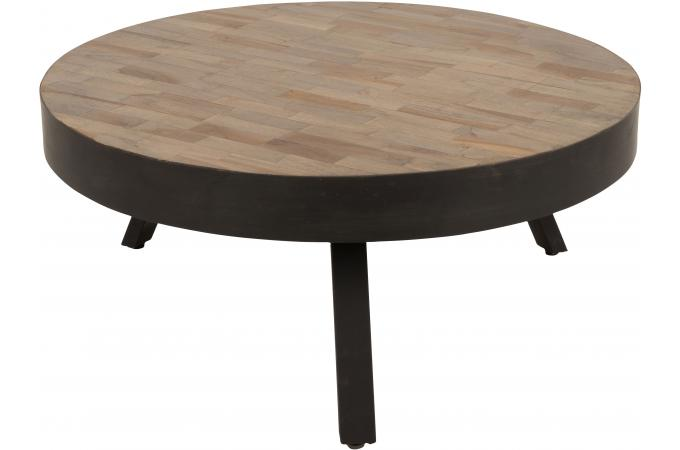 table basse d 39 appoint en teck soteck design pas cher sur sofactory. Black Bedroom Furniture Sets. Home Design Ideas