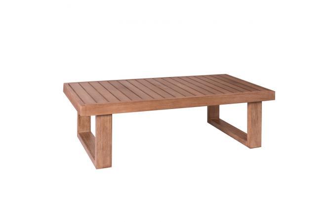 Table Basse de Jardin Marron GIUSEPPE design sur SoFactory