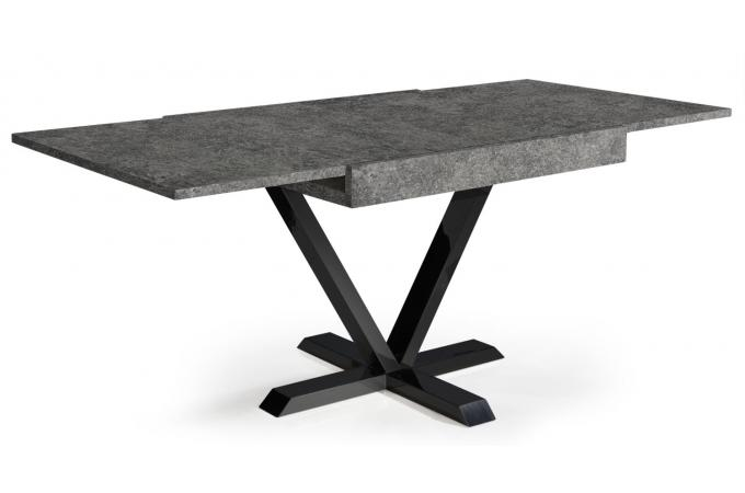 table basse design r tractable effet b ton gris ivon design sur sofactory. Black Bedroom Furniture Sets. Home Design Ideas