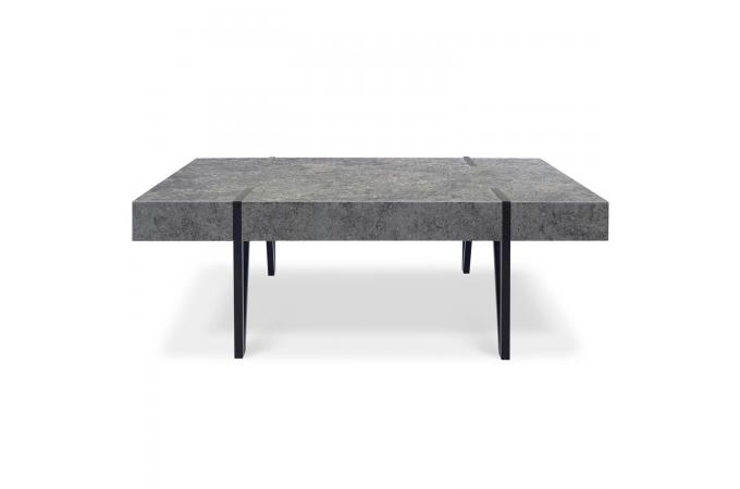 table basse effet b ton bakel design sur sofactory. Black Bedroom Furniture Sets. Home Design Ideas