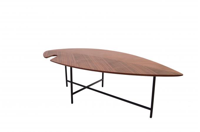 Effet Sur Sofactory Design Basse Jaho Noyer Verni Table rdWeCxBo