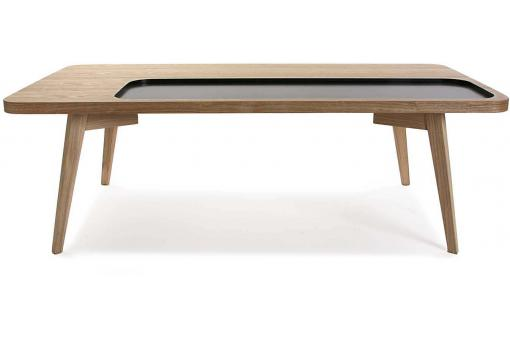 Table Basse En Bois Noir ELFY VE248813-0000