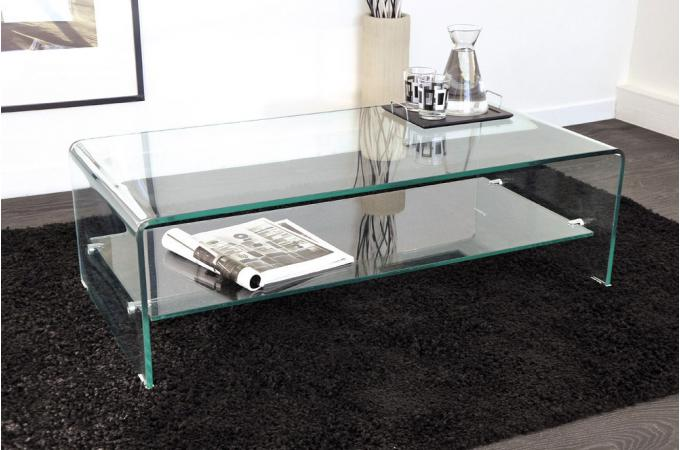 Table Basse Rectangulaire Design Salon Lille Menagefr Maison