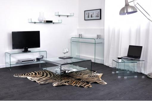 Table basse Transparent Lo58802-0000