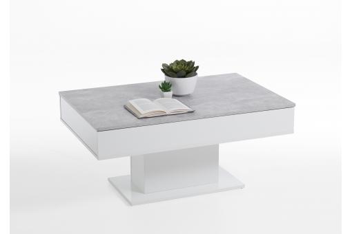 Table Basse Extensible Bois Blanc HAWICK SoFactory