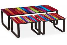 Table Basse Gigogne Multicolore MARLY