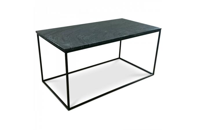 table basse marbre noir fortuna design sur sofactory. Black Bedroom Furniture Sets. Home Design Ideas