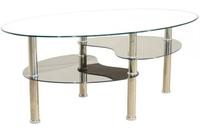 Table basse Blanche ELBA