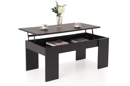 Table Basse Noir MERIDA So295103-0000