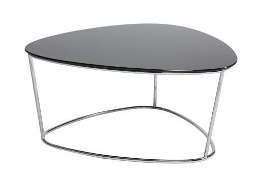 table basse plateau en verre noir grand mod le neo design sur sofactory. Black Bedroom Furniture Sets. Home Design Ideas