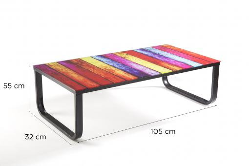 Table basse Sofactory multicolore So257835-0000