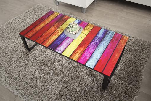 Table Basse Plateau Verre NOWARK multicolore So257835-0000