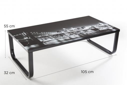 Table basse Sofactory Transparent So257837-0000