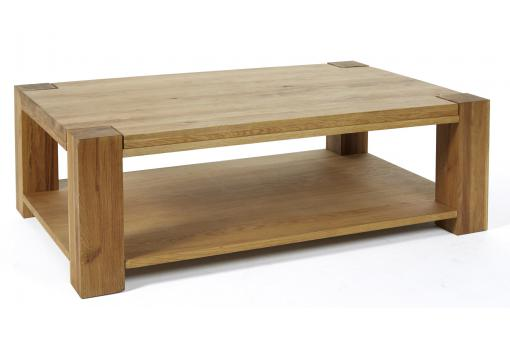 Table Basse Rectangulaire Bois NORNA SoFactory
