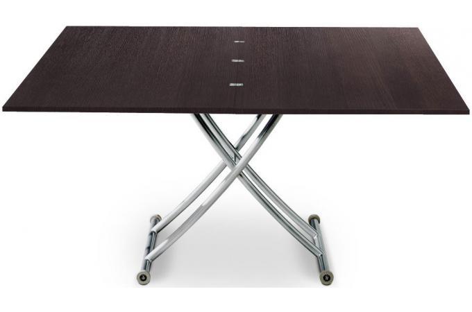 table basse bois wenge relevable rallonge chorus design sur sofactory. Black Bedroom Furniture Sets. Home Design Ideas