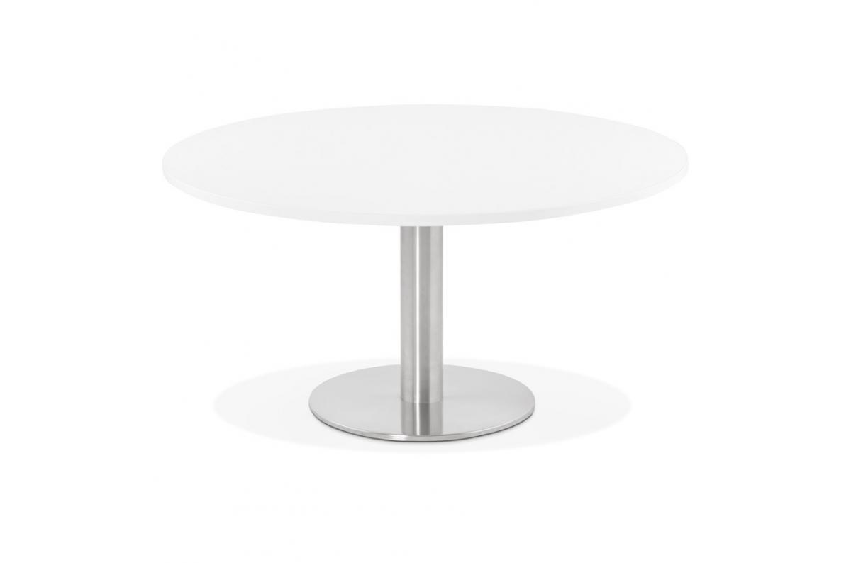 Table Basse Ronde Blanche Aguilas