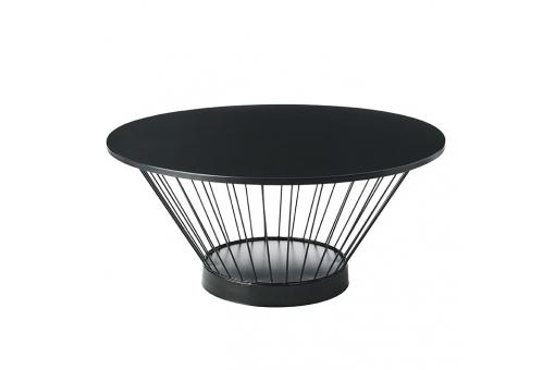 Table Basse Ronde Noir TANIA SoFactory