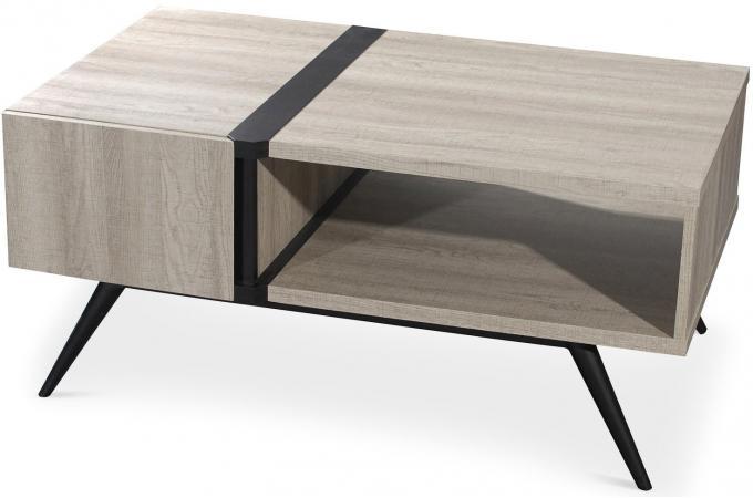 table basse scandinave bois clair plani design sur sofactory