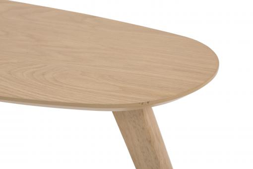 Table Basse Scandinave Haricot Bois Clair SENZU Marron DI234838-0000