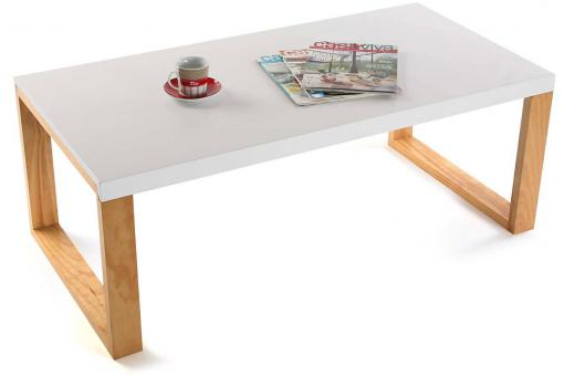 Table basse Bois Blanc VE225416-0000