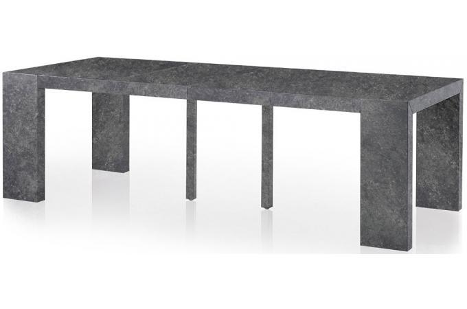 console extensible b ton 250cm mat nika design sur sofactory. Black Bedroom Furniture Sets. Home Design Ideas