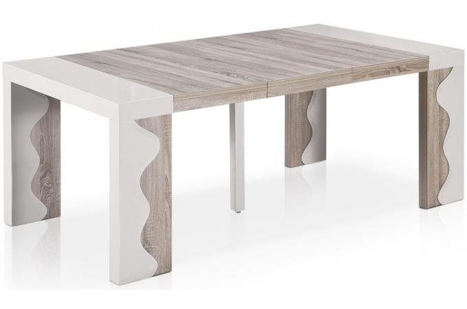 Best console extensible laqu images - Table console extensible blanc laque design ...