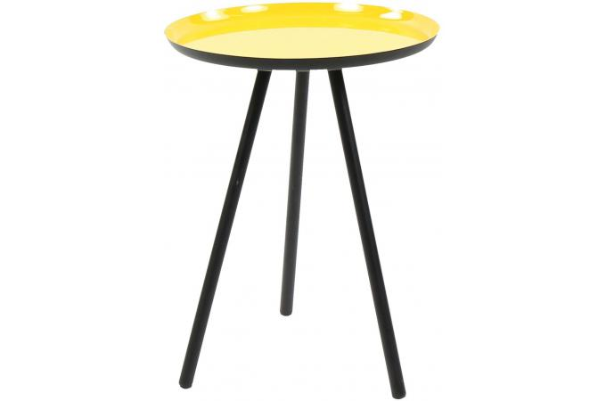 Table D Appoint En Metal Jaune Bufa Design Sur Sofactory