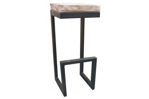 table d 39 appoint en bois et en m tal h72 criver design sur. Black Bedroom Furniture Sets. Home Design Ideas